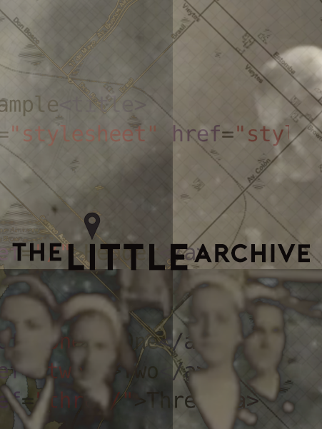 The little archive – Web Native Immersive project [2017] WIP